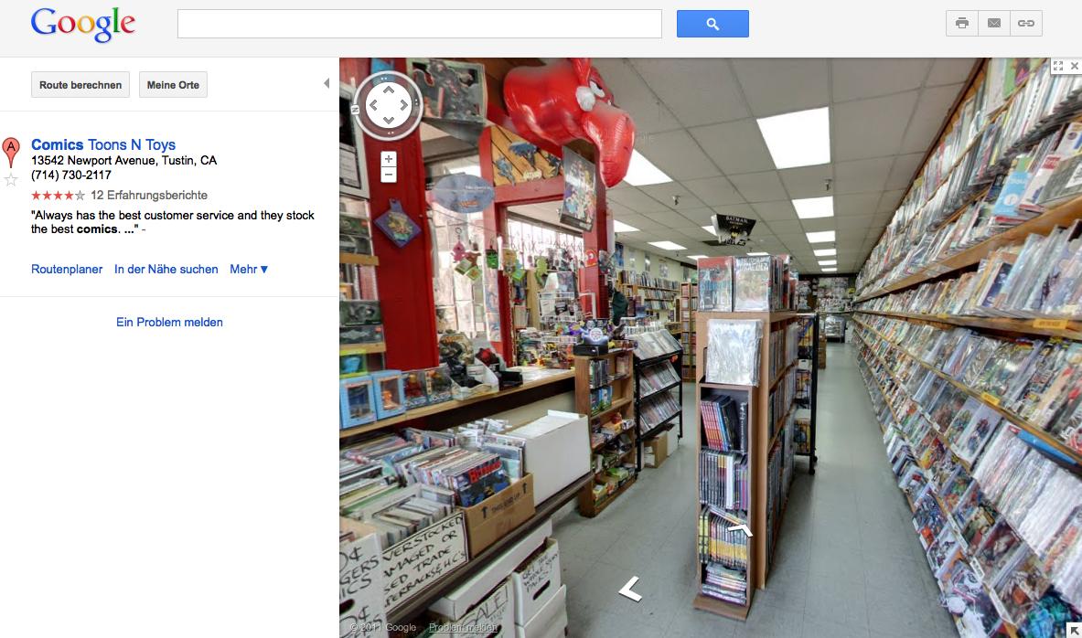 Google Streetview Inhouse