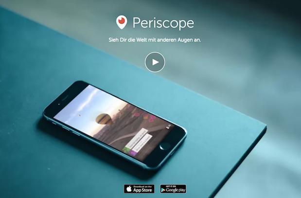 Tipps zum Einsatz von Periscope in Unternehmen