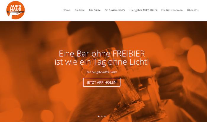 Per App Freigetränk in Restaurants, Bars & Hotels sichern