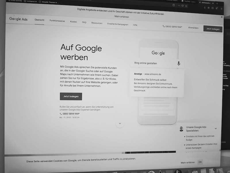 Google Ads-Kampagne für Hotels einrichten