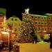 Der begehbare Weihnachtsbaum auf dem Weihnachtsmarkt in Minden 2010